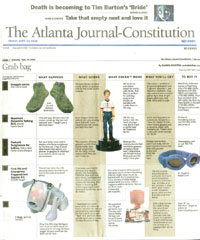 Atlanta Journal coverage of FunTalking's Napoleon Dynamite talking pen and doll