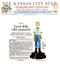 Kansas City Star's coverage of FunTalking's Napoleon Dynamite talking pen and doll