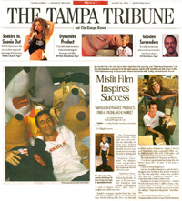 Tampa Tribune's coverage of FunTalking's Napoleon Dynamite talking pen and doll