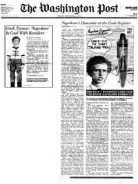 Washington Post's coverage of FunTalking's Napoleon Dynamite talking pen and doll